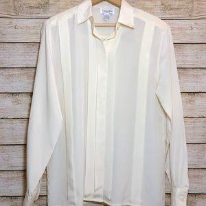 Christian Dior Vintage Long Sleeve Button Blouse 6